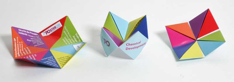 Origami Pliage Cocotte Ou Colier